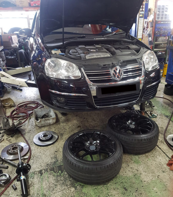 Volkswagen Chasis Repair